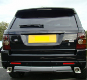 Autobiography AB Exhaust Tips For Range Rover Sport 2005-2009 (with AB kit fitted)